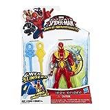 2 Pack of Marvel Ultimate Spider-man Web Warriors Action Figures