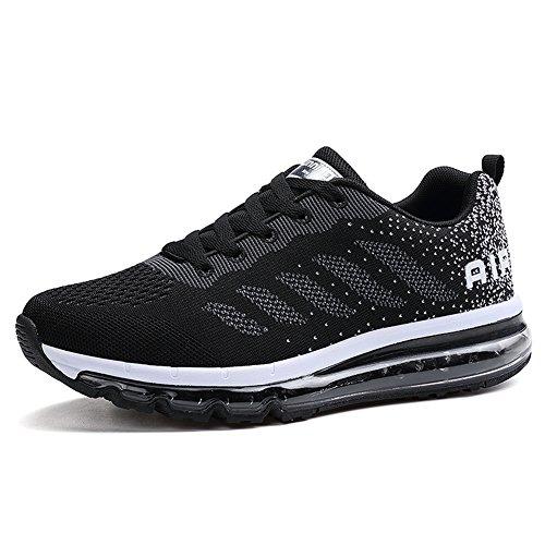 Basse Fitness Shoes Unisex Sportive Scarpe Nero Gym Sneakers da Ginnastica Running gztx1z