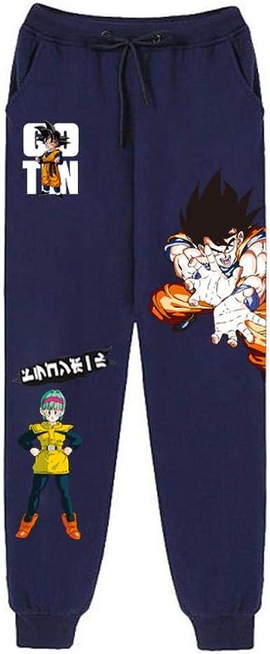 Oowjj Dragon Ball Pantalones De Chándal para Hombre Pantalón ...
