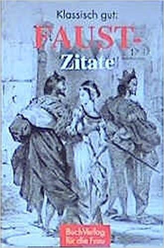 Klassisch Gut Faust Zitate Minibibliothek Amazonde