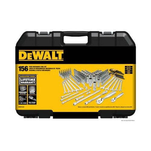 DEWALT DWMT72164 156 Piece Mechanics Tool Set by DEWALT