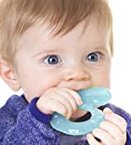 Nuby Silicone Teethe eez Teether with Bristles (Small Image)