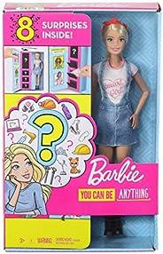 Barbie Barbie Surpresa Carreiras, Multicor, Mattel
