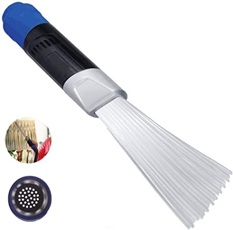 Diker Cepillo Universal para Polvo, Cepillo Universal para aspiradora, Accesorios para aspiradora, Cepillo de Limpieza, Cepillo para aspiradora, para Teclado, automóvil, Esquina, Mascota, etc.: Amazon.es: Hogar