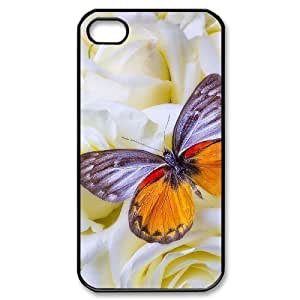 Custom Cover Case with Hard Shell Protection for iphone 6 /, case with Butterfly lxa#452417