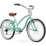 Firmstrong Chief Lady Seven Speed Beach Cruiser Bicycle, 26-Inch, Mint Green Review