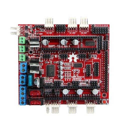 Geeetech AT91SAM3X8E ARM 32-bit Microcontroller DUE Board 3D printer RepRap RAMPS-FD shield for DUE