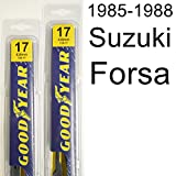 Suzuki Forsa (1985-1988) Wiper Blade Kit - Set Includes 17