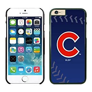 DIY Case Baseball Chicago Cubs Fit for iPhone 5c Cases-Black(5c )