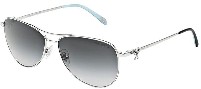Tiffany & Co. TF3044 gafas de sol, Plateado (Silver 60473C ...