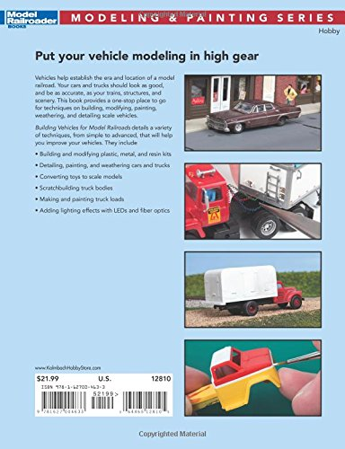 Building Vehicles for Model Railroads (Modeling & Painting)