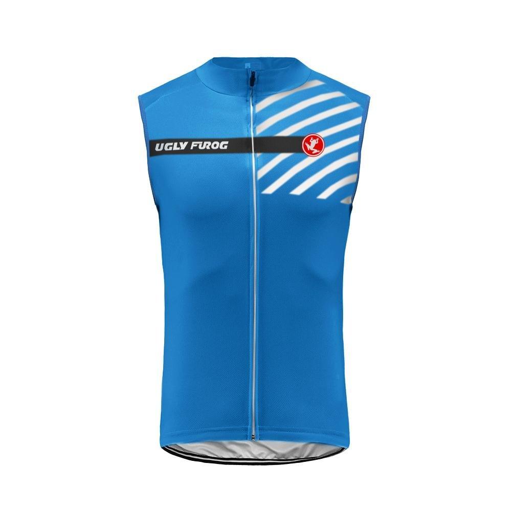 Uglyfrog Radtrikot Ärmellos Vest Herren Mode Sport & Freizeit MTB Fahrradbekleidung Radsport Hemd Polyester Gemütlich MJZ01