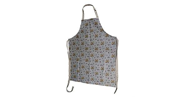 Con licencia oficial de LS Lowry - obras de arte delantal yates a obras de arte. Cocina de la hornada de la barbacoa: Amazon.es: Hogar