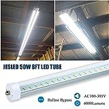 JESLED T8/T10/T12 8FT LED Tube Light, Single Pin