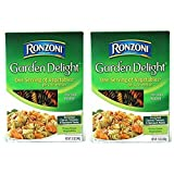 pasta tricolor - Ronzoni Garden Delight Tricolor Rotini Net Wt. 12 Oz (Pack of 2)