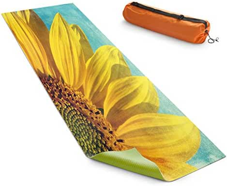 DiaNoche Yoga Mats by Sylvia Cook Pure Sunshine