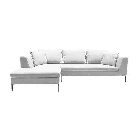 Amazon.com: KMP Muebles Bernie Seccional sofá Chaise ...