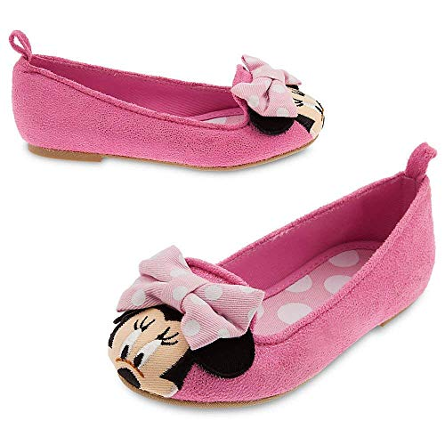 Disney Girls Minnie Mouse Flat Shoes Toddler 9 Pink