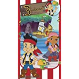 Jake And The NeverLand Pirates Birthday Card For 3 Year Old by Portico