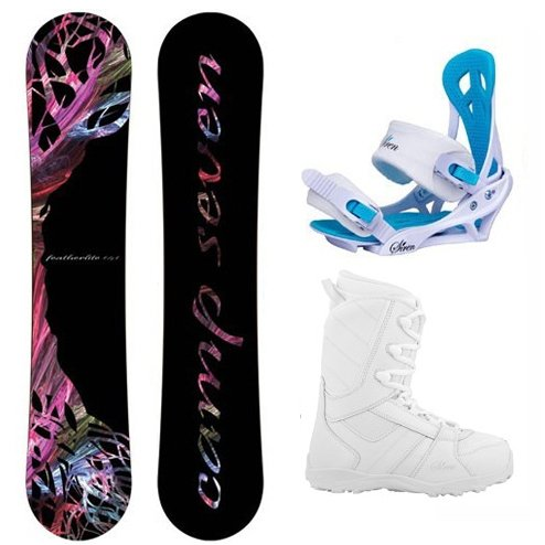 Camp Seven Featherlite Women's Complete Snowboard Package 2018