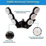 SANSI 60W LED Garage Light, 6000lm Super Bright E26