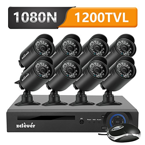 Zclever 8 Outdoor 1080N HD 1200TVL Home  - Home Surveillance Camera Shopping Results