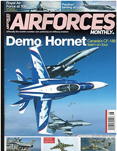 Airforces Monthly Magazine August 2018 ()