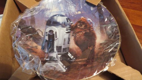 The Hamilton Collection Star Wars Trilogy Collector Plate: R2-D2 and Wicket (Collection Collector Plate Hamilton)