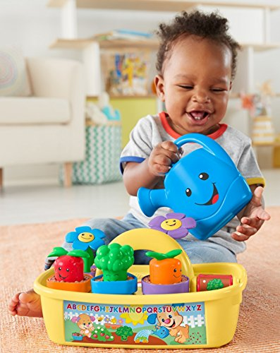51iB0h8p5nL - Fisher-Price Laugh & Learn Smart Stages Grow 'n Learn Garden Caddy (Amazon Exclusive)