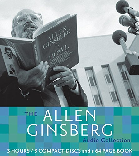 Allen Ginsberg CD Poetry Collection: Booklet and CD