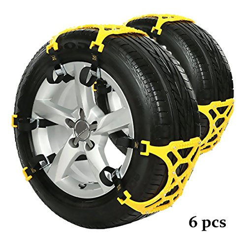 DINOKA Snow Chains for Car Tires - Emergency - Automotive Tires