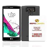 LG G4 Battery Case, ZeroLemon LG G4 8500mAh TriCell Extended Battery + Soft TPU Full Edge Protection Case