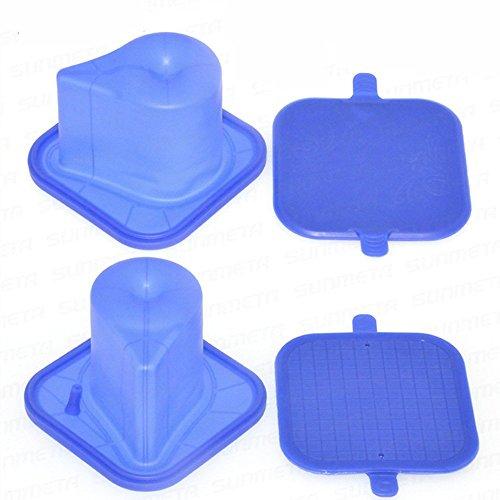 EDIY Heat Transfer Mug Clamp - 3D Sublimation Silicone Mug Wrap Clamp 11OZ Special-shaped Mug Clamp Heat Press Mug Mould Lovers Mug Semicircle Cup For Vacuum Machine by EDIY