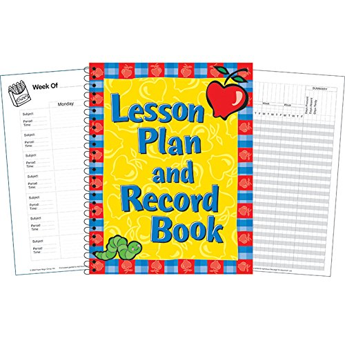 Eureka EU-866210BN Lesson Plan And Record Book, MultiPk 3 Each