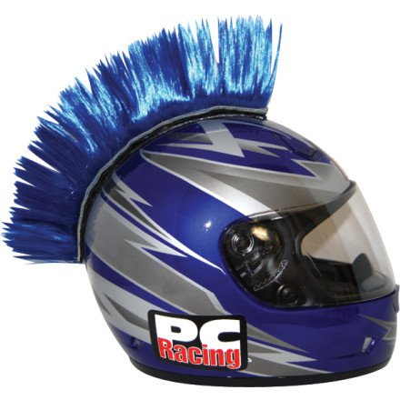 PC Racing Helmet Mohawk (BLUE)