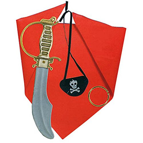 Giplam 39 x 16 x 3 cm ''F'' Pirate Set (Small/One -