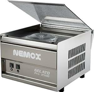 Nemox Gelato Pro 2500 plus - Heladera con compresor