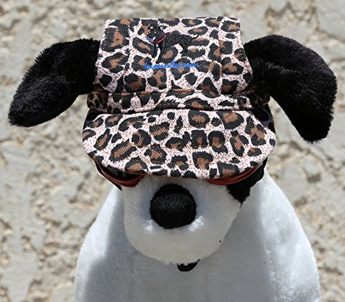 LoveWally Dog Outdoor PET Hat Leopard ♦ Adjustable Authentic (Large) by LoveWally (Image #4)