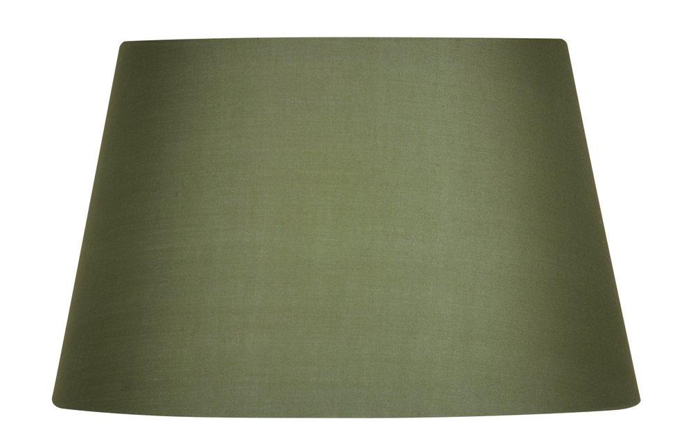Oaks Lighting 10-inch Cotton Drum Shade Duck Egg
