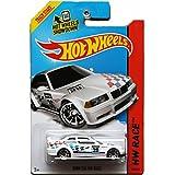 Hot Wheels 2014 Hw Race BMW E36 Race White 169/250, Long Card by Mattel