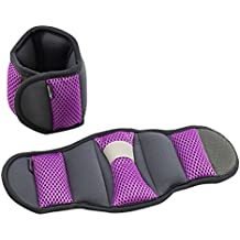 Empower Ankle Weights and Wrist Weights for Women, Adjustable, Running, Walking, Exercise, Resistance Training, Toning, 1 Pair