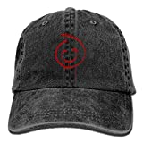 LETI LISW Red Smiley FaceClassicDad Hat Adult Unisex Adjustable Hat