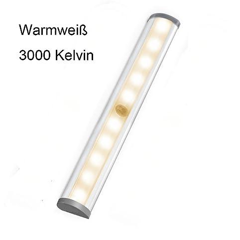 LED Unterbauleuchte Warmweiß 3000K, MIRI Kabellose ...