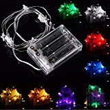 Lights & Lighting - 3m 30 Led Battery Powered Star String Fairy Light For Christmas Party Weddinng Decor - Battery Star String Lights Fairy Operated Twinkle Stars - 1PCs