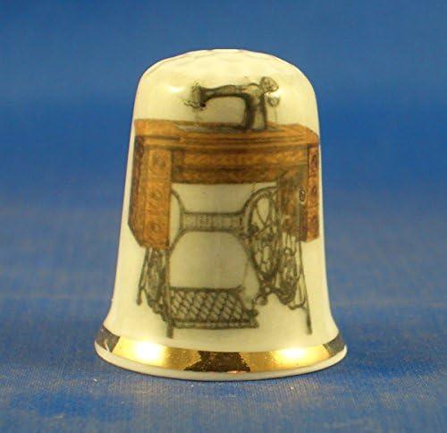 Dedal de porcelana china coleccionable para máquina de coser ...