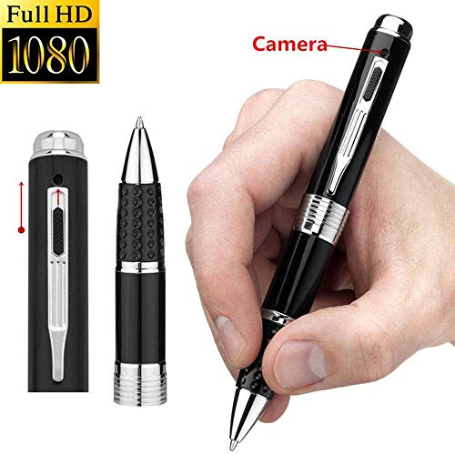 Dream-Zone Pen with Surveillance Hidden Camera – 1080P Full HD Plug to Play to PC/Mac