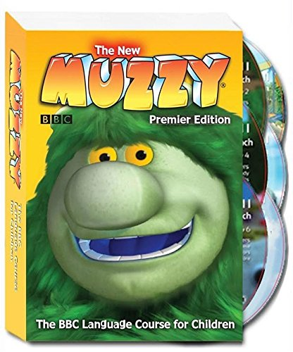 Grinch Costume Videos (Learning English for Kids 6 DVD Sets - Teaching Children and Toddlers with the New Muzzy Premier Edition - The BBC Language Learning System Course - 6 DVD Set + Online Games & Videos)
