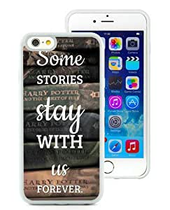 Fashionable iPhone 6S Plus Case,vintage harry potter old books White Customized Case For iPhone 6S Plus 5.5 Inch TPU Case
