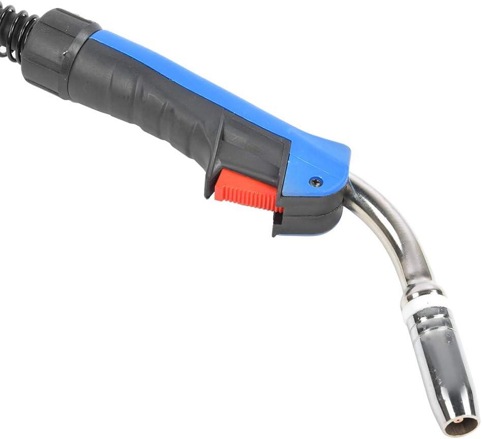 Antorcha de soldadura pistola de soldadura MB25AK Reemplazo de antorcha de soldadura blindada con aire CO2 con funci/ón /óptima de refrigeraci/ón por agua