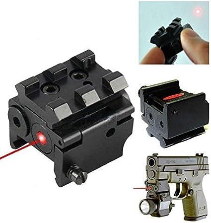 20mm Mini Tactical Laser Red Dot Sight Scope Gun Rifle Pistol Hunting Optics